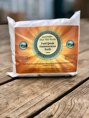 1 pound Food Grade Diatomaceous Earth