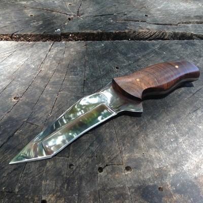 Waterproof 1080 High Carbon Steel Tanto Knife