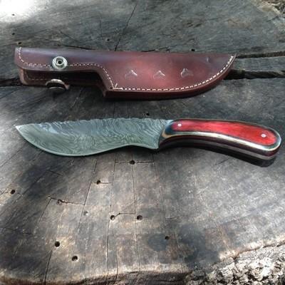Beautiful Damascus Knife
