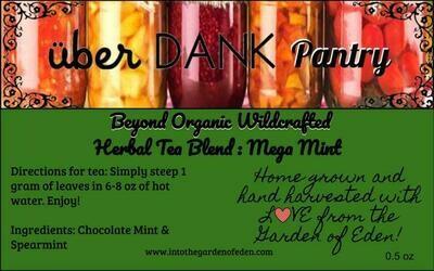 Beyond Organic Mega Mint Herbal Tea Blend