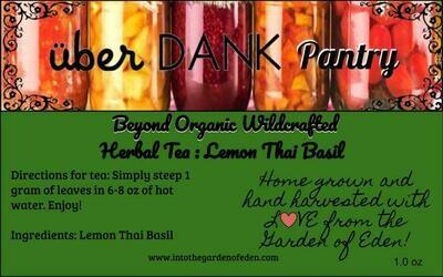 Beyond Organic Lemon Thai Basil Pure Herbal Tea