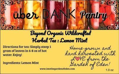 Beyond Organic Lemon Mint Pure Herbal Tea