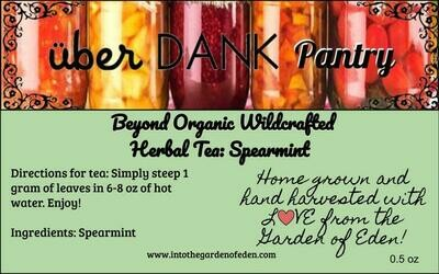 Beyond Organic Spearmint Pure Herbal Tea