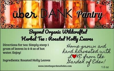 Beyond Organic Roasted Holly Pure Herbal Tea