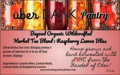 Beyond Organic Raspberry Lemon Bliss Herbal Tea Blend