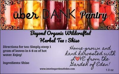 Beyond Organic Shiso Pure Herbal Tea