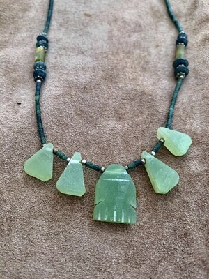 Tribal Jade Necklace