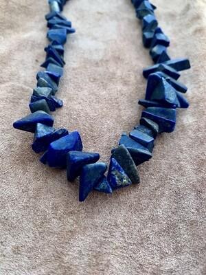 Lapis Lazuli Shards Necklace
