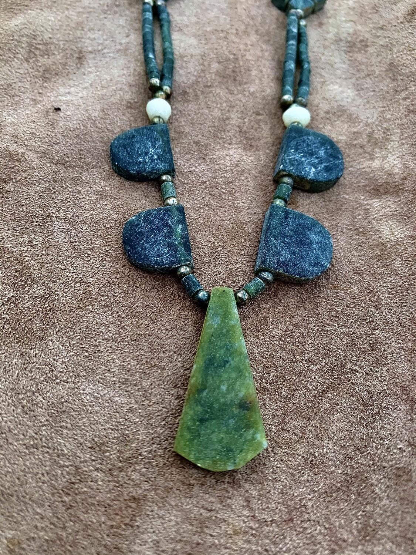 Tribal Jade Necklace