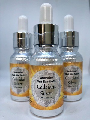 3 Bottles of Colloidal Silver