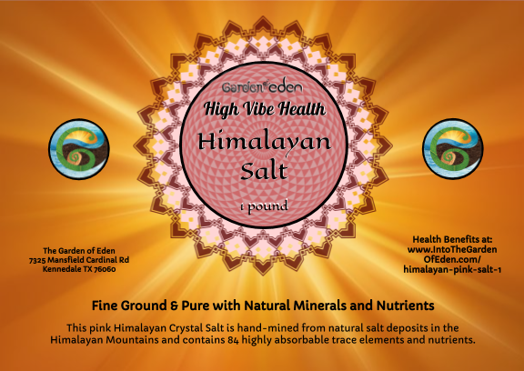 1 pound Himalayan Pink Salt
