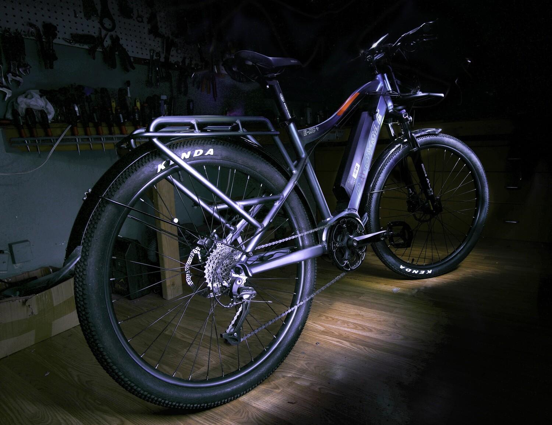 pXcycle E-XC + Urban Mountain Electric Utility Bike