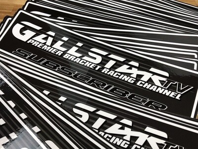 GallStar TV SUBSCRIBER Decal