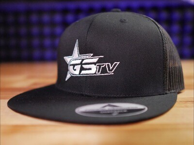 Whiteout GSTV Flat Bill Trucker Cap