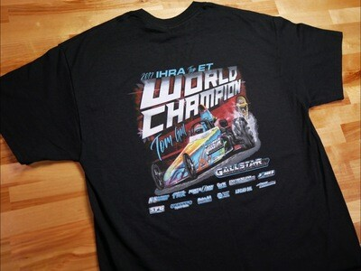 World Champ Throwback T-Shirt (Black)