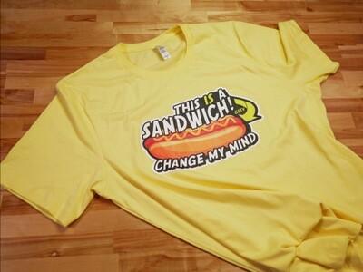 This IS a Sandwich Hotdog Shirt