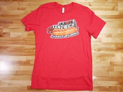 It's NOT a Sandwich Hotdog Shirt