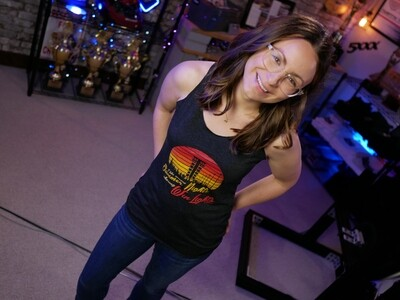 Summer Nights, Win Lights Racerback Tank