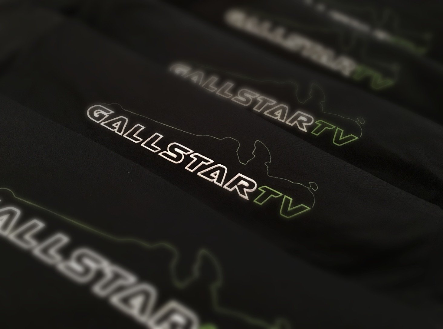 Black/Green GallStar Dragster Silhouette