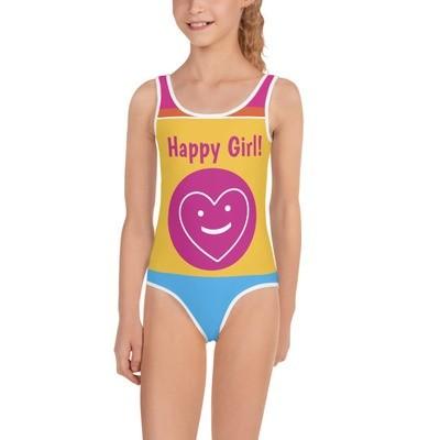 Happy Girl  Swimsuit