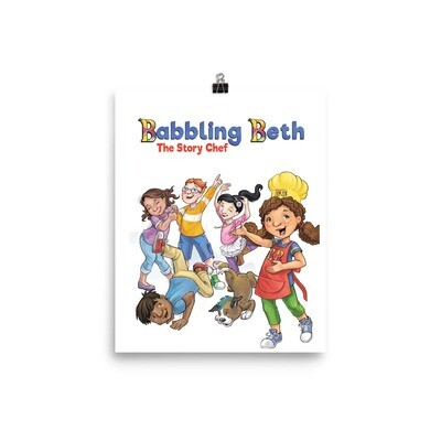 Babbling Beth And Friends Poster