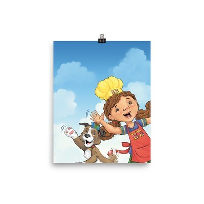 Babbling Beth The Story Chef Poster