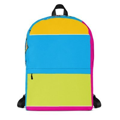 Babbling Beth's Colorful Backpack