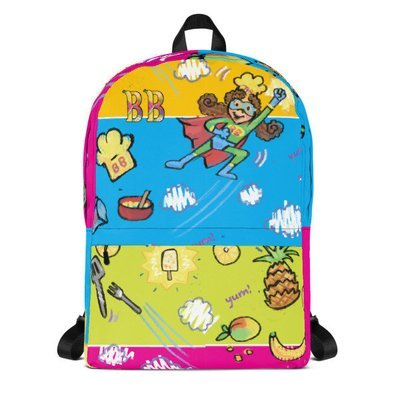 Babbling Beth's Superhero Mania Backpack