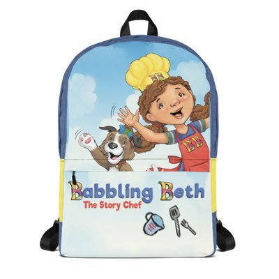 Official Babbling Beth The Story Chef Backpack