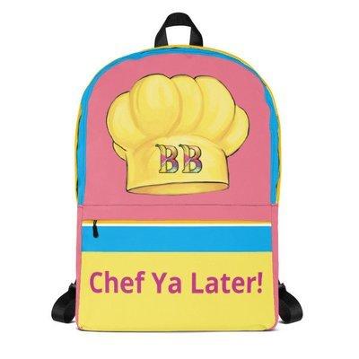 Chef Ya Later Backpack