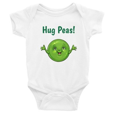 Hug Peas Infant Bodysuit
