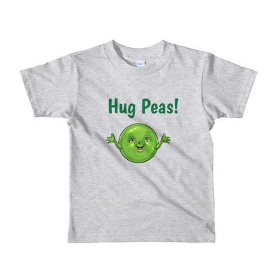 Hug Peas Short sleeve kids t-shirt