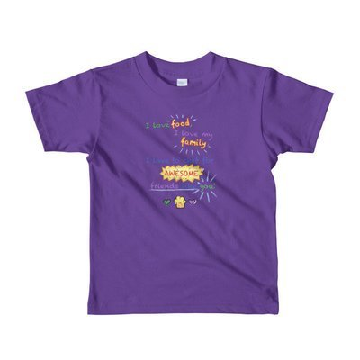 Chef For You! Short sleeve kids t-shirt