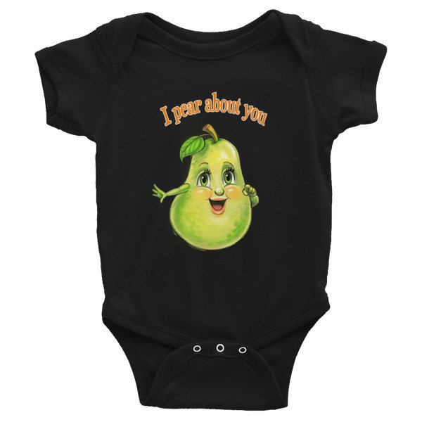 I Pear About You Infant Bodysuit