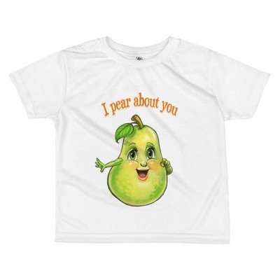I Pear About You Toddler T-shirt