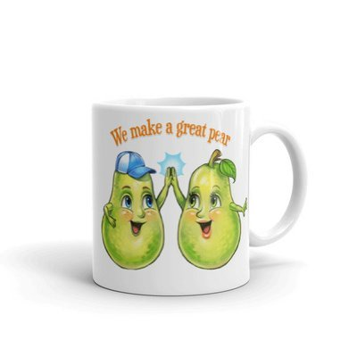 We Make A Great Pear Mug