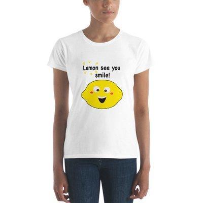 Lemon See You Smile Women's short sleeve t-shirt