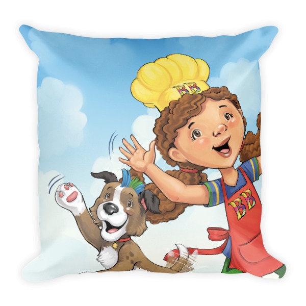Official Babbling Beth The Story Chef Pillow