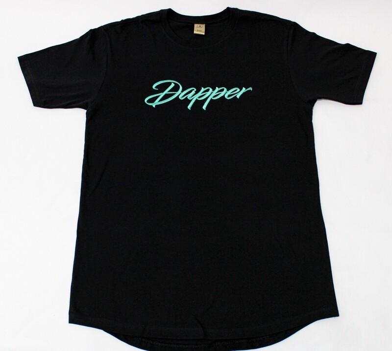 "Dapper ""Script"" Tee"