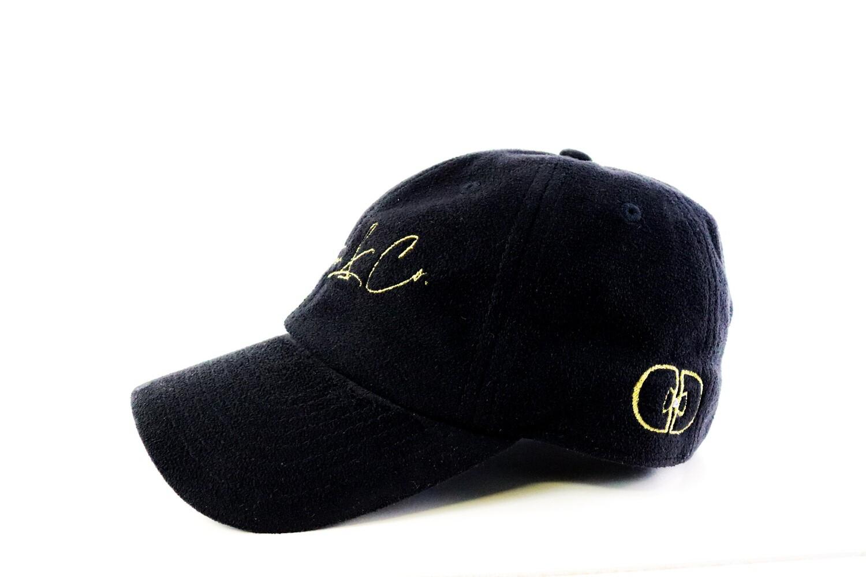 "Dapper ""Signature"" Hat (Black/Gold)"
