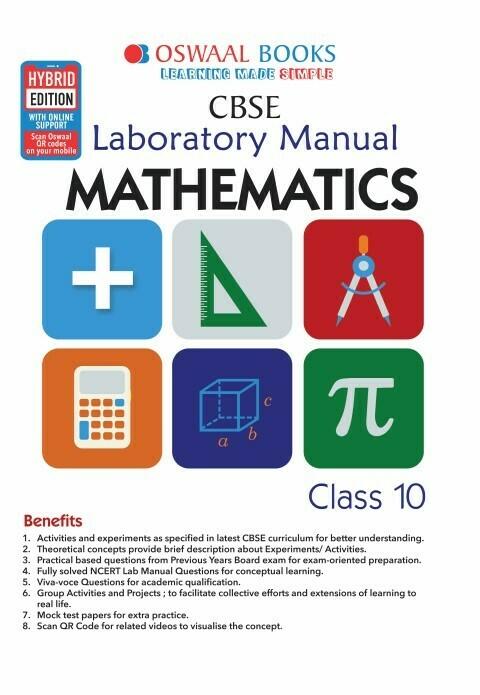 Oswaal CBSE Laboratory Manual Class 10 Mathematics Book (For 2021 Exam)