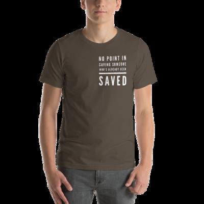 SAVED Short-Sleeve Unisex T-Shirt