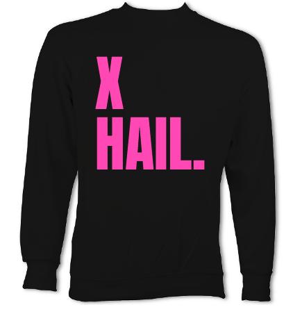 X-Hail Black Sweat