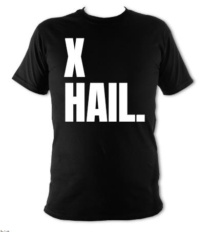 X-Hail Kids Black T