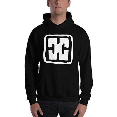 Basic Needs - Black Hooded Sweatshirt - Symbol