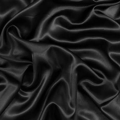 Satin Doek (Black)