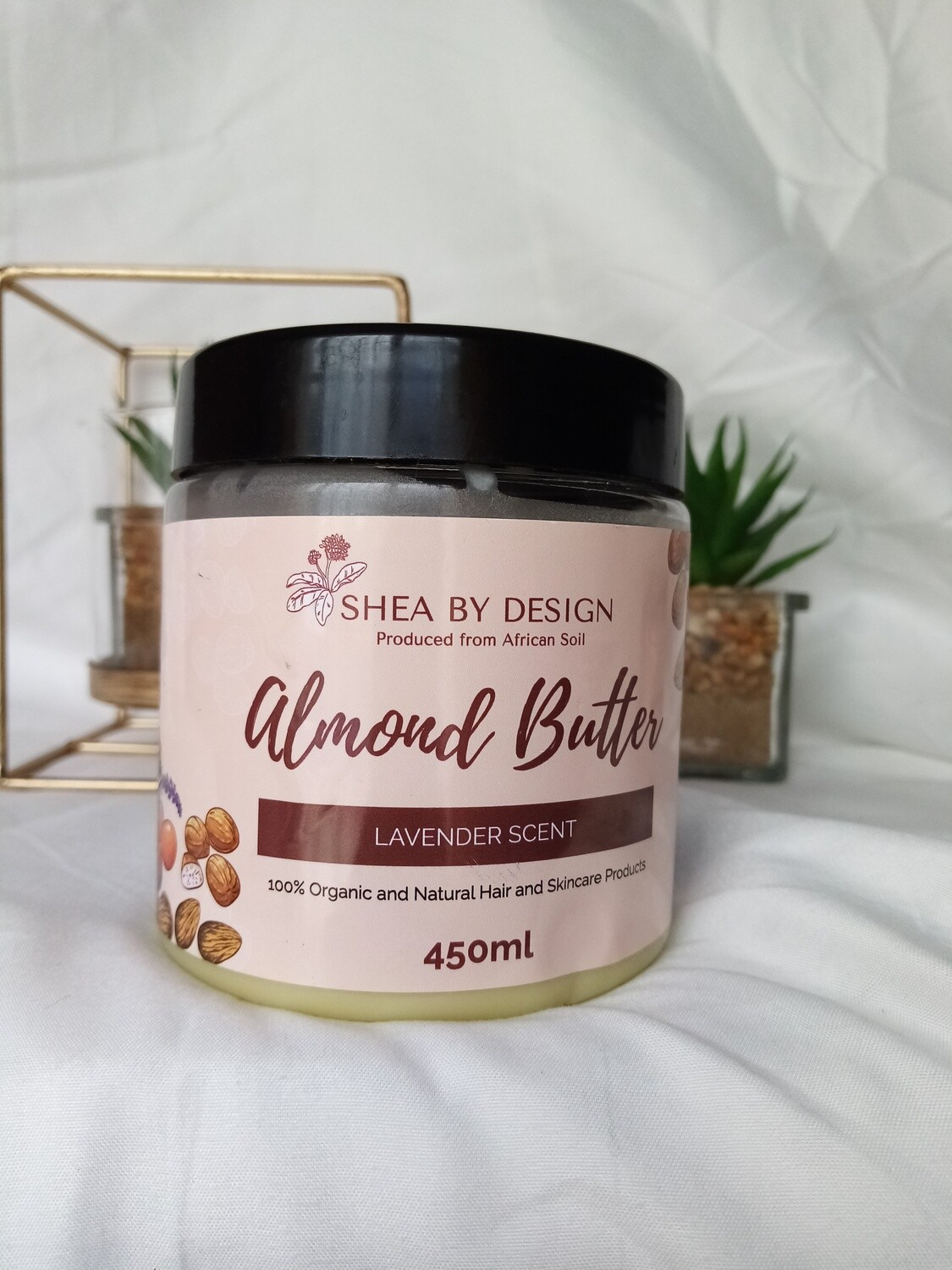 Almond Butter - lavender scented (450g)