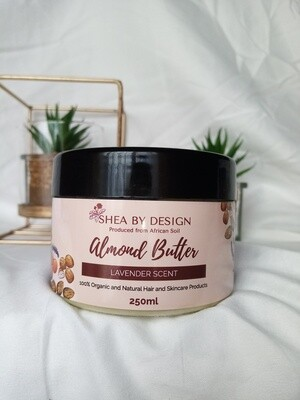 Almond Butter - lavender scented (250g)