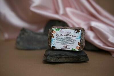 Raw African Black Soap (175g)