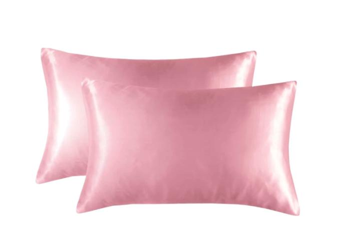 Satin'ista Dusty Pink Satin Pillowcase Set